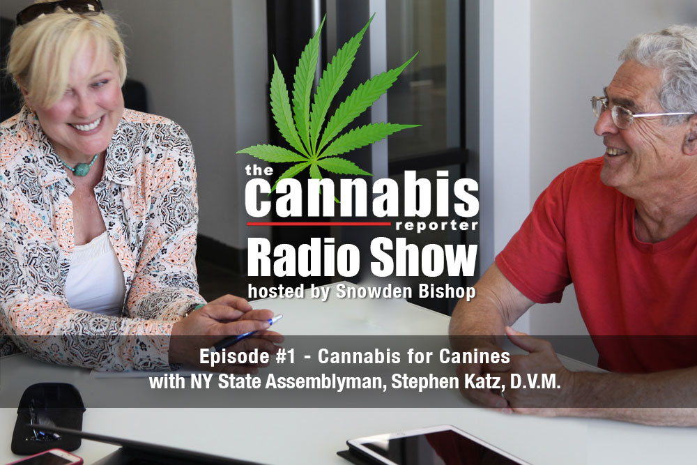 The Cannabis Reporter Radio Show hosted by Snowden Bishop with Dr. Katz