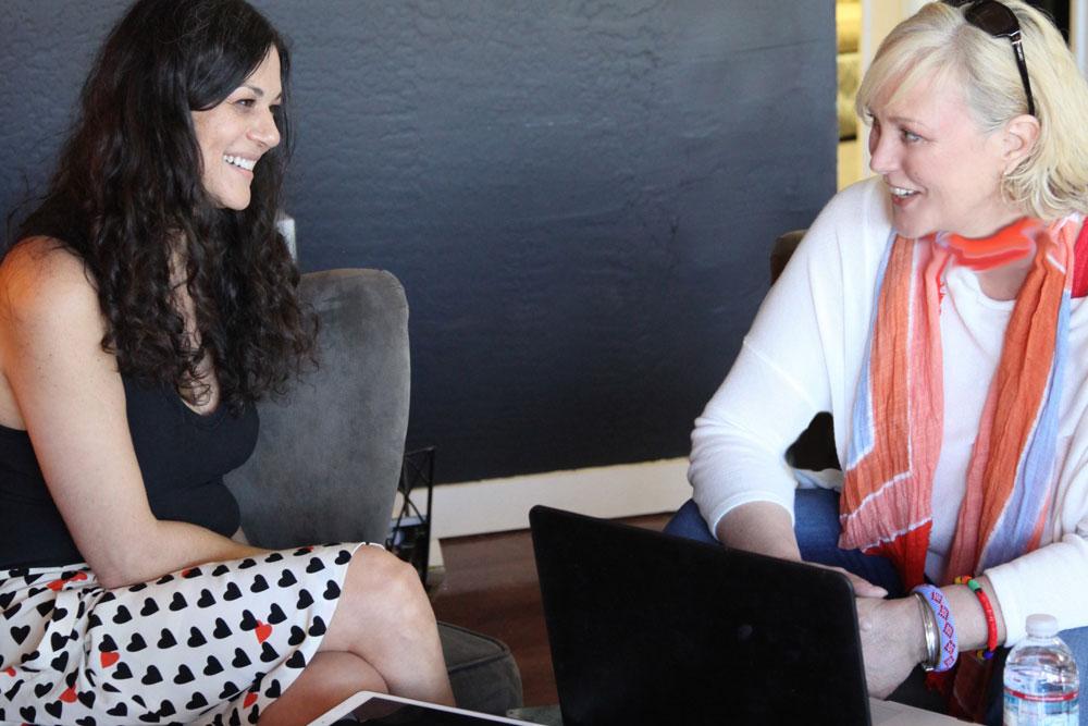 Liz Valentine with Snowden Bishop