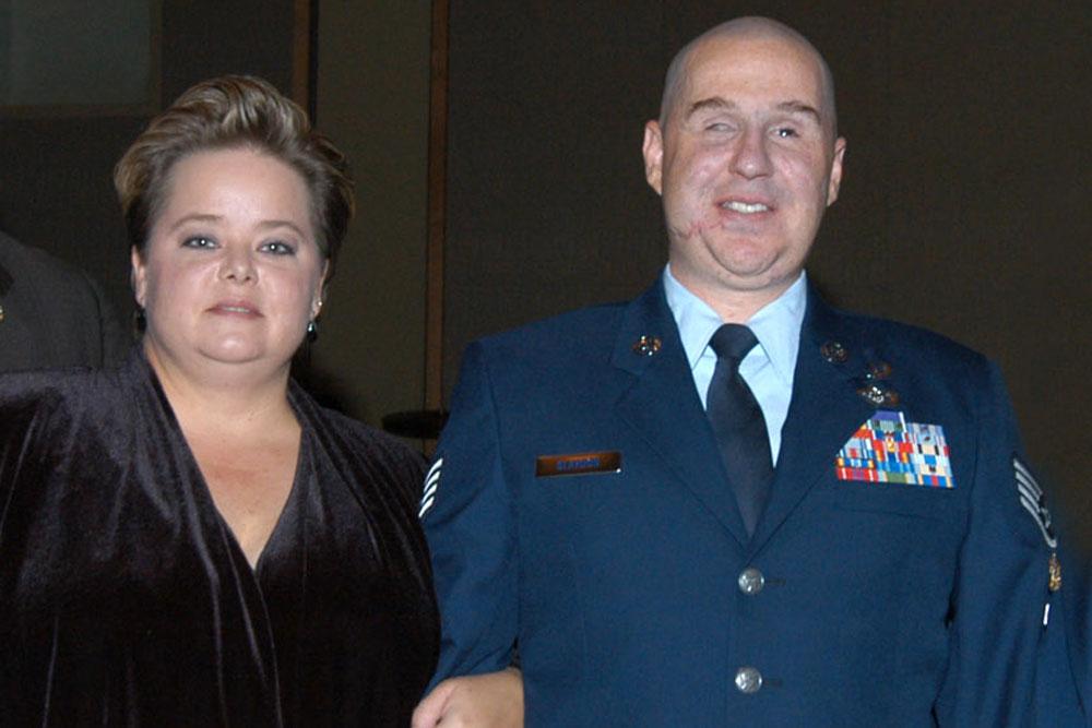 Matthew Slaydon and his wife Annette