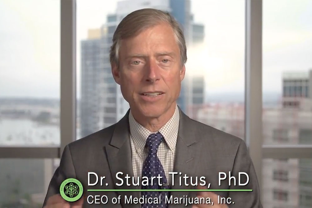 Dr Stuart Titus explains why CBD is not illegal