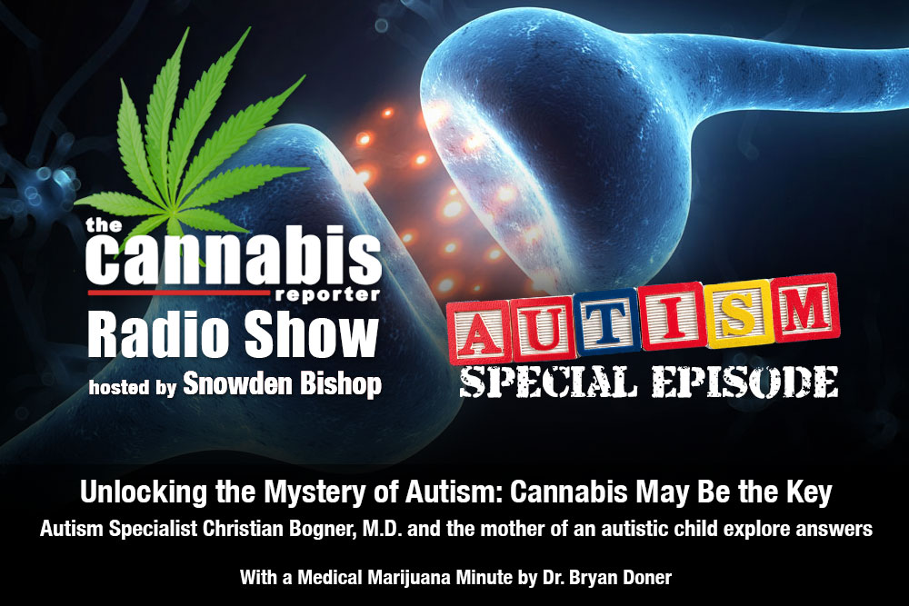 The Cannabis Reporter Radio Show Hosted by Snowden Bishop -- Autism Special Episode with Dr. Christian Bogner and Brandy Williams