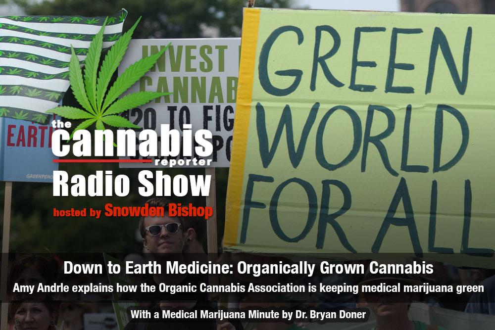 The Cannabis Reporter Radio Show - Down to Earth Medicine: Organically Grown Cannabis