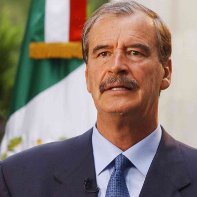 Former President Vicente Fox