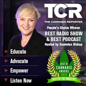 The Cannabis Reporter Radio Show hosted by Snowden Bishop | People's Choice Winner 2018 Best of Cannabis Awards for Best Radio Show & Best Podcast. Educate Advocate Empower Listen Now