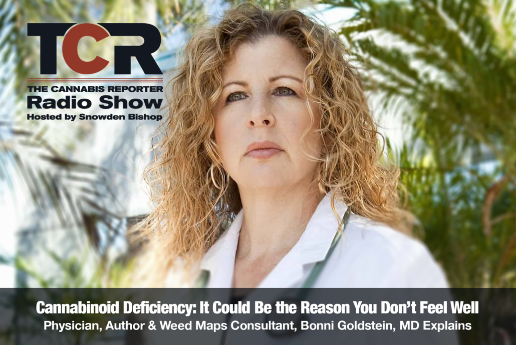 The Cannabis Reporter Radio Show hosted by Snowden Bishop - Cannabinoid Deficiency: It Could be the Reason You Don't Feel Well with Dr Bonni Goldstein