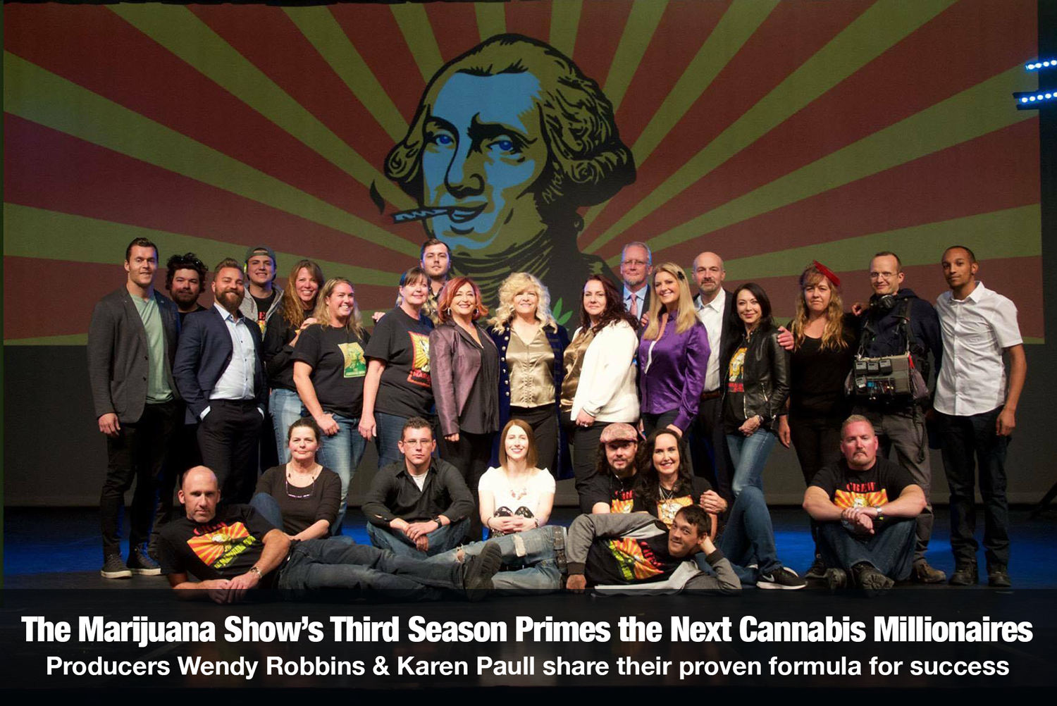 The Cannabis Reporter Radio Show hosted by Snowden Bishop - The Marijuana Show's Third Season Primes the Next Cannabis Millionaires