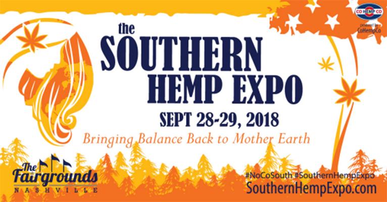 Southern Hemp Expo Sept 28, 29, 2018