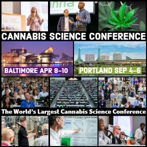 Cannabis Science Conference Baltimore April 8-10, 2019