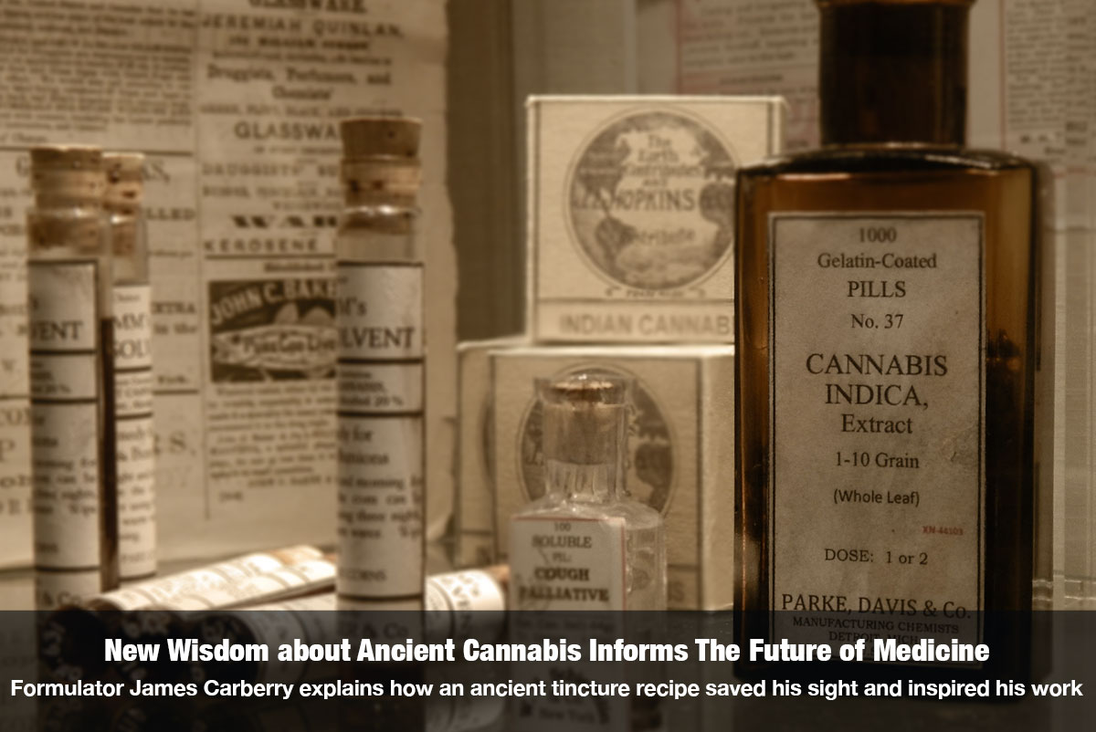 New Wisdom about Ancient Cannabis Informs The Future of Medicine - Interview with James Carberry on The Cannabis Reporter Hosted by Snowden Bishop