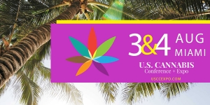 The U.S. Cannabis Conference & Expo is heading back to Miami on August 3rd and 4th, 2019 with hundreds of exhibitors, speakers and educational events